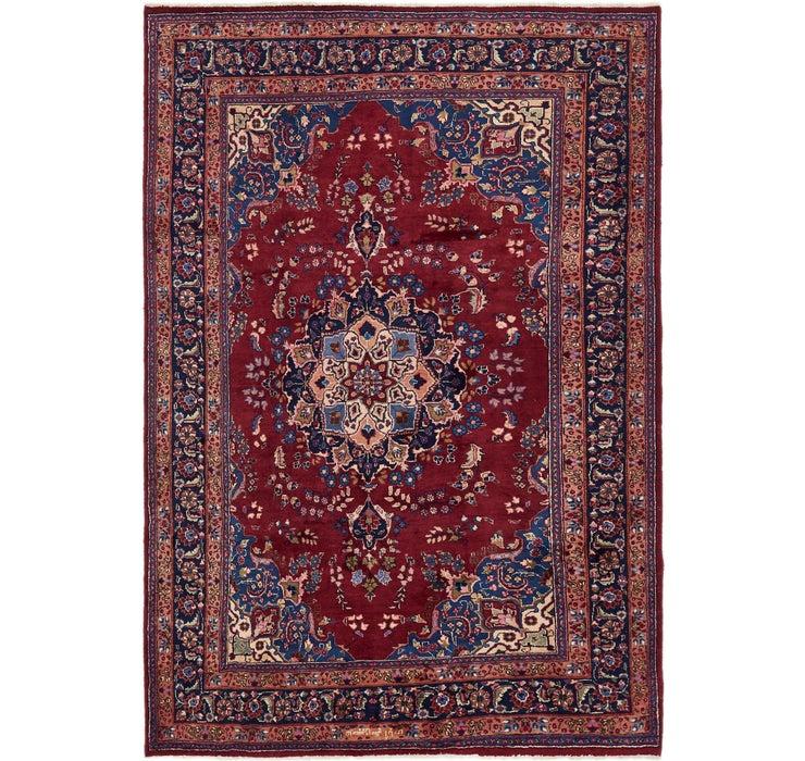 6' 6 x 9' 6 Mashad Persian Rug