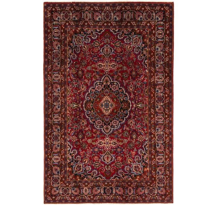 193cm x 300cm Mashad Persian Rug