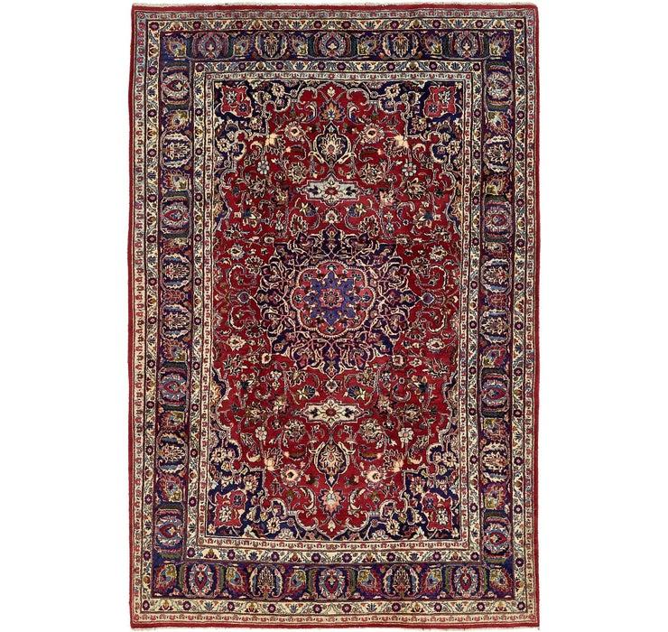 6' 6 x 10' 2 Mashad Persian Rug