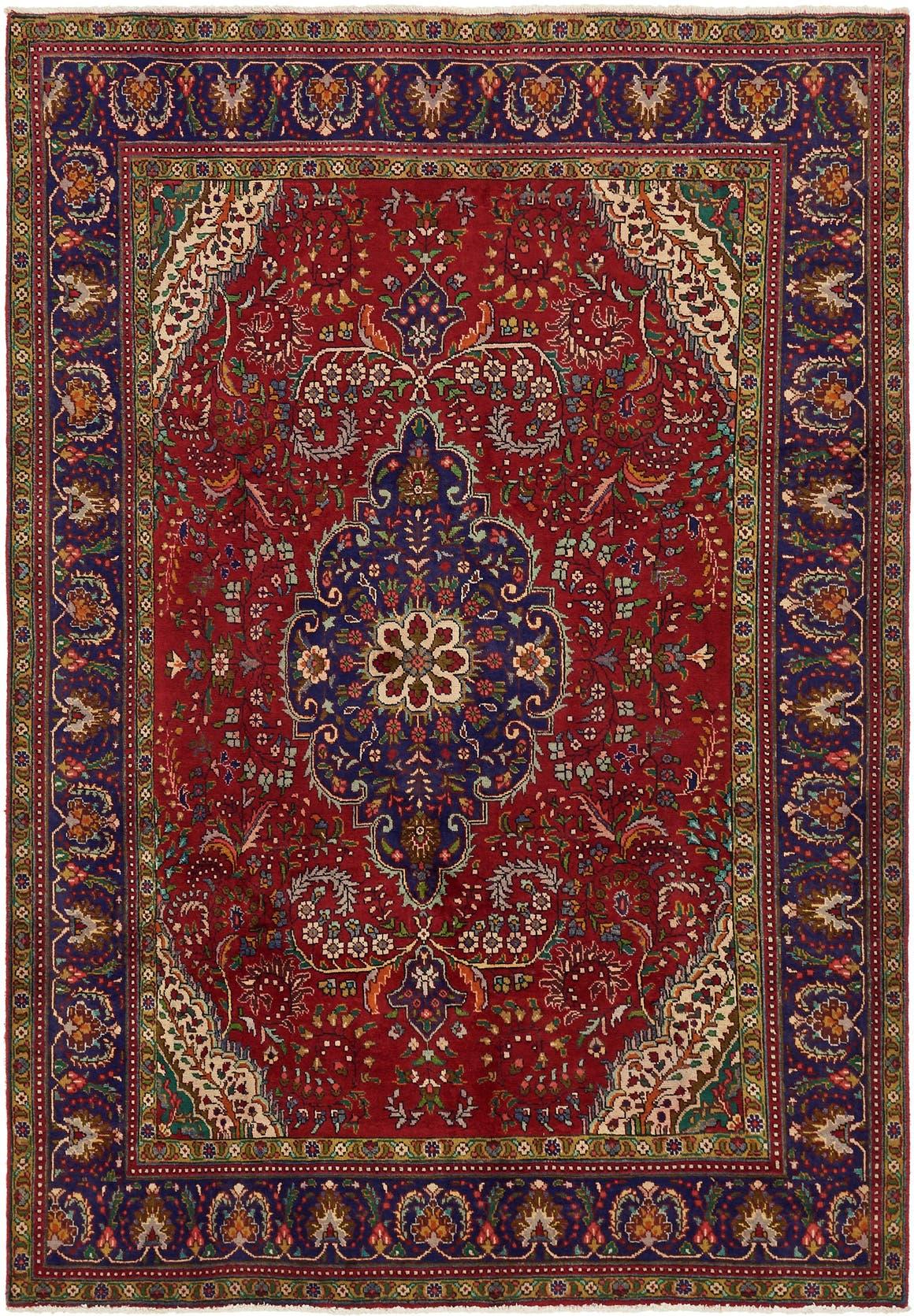 6' 9 x 9' 7 Tabriz Persian Rug main image