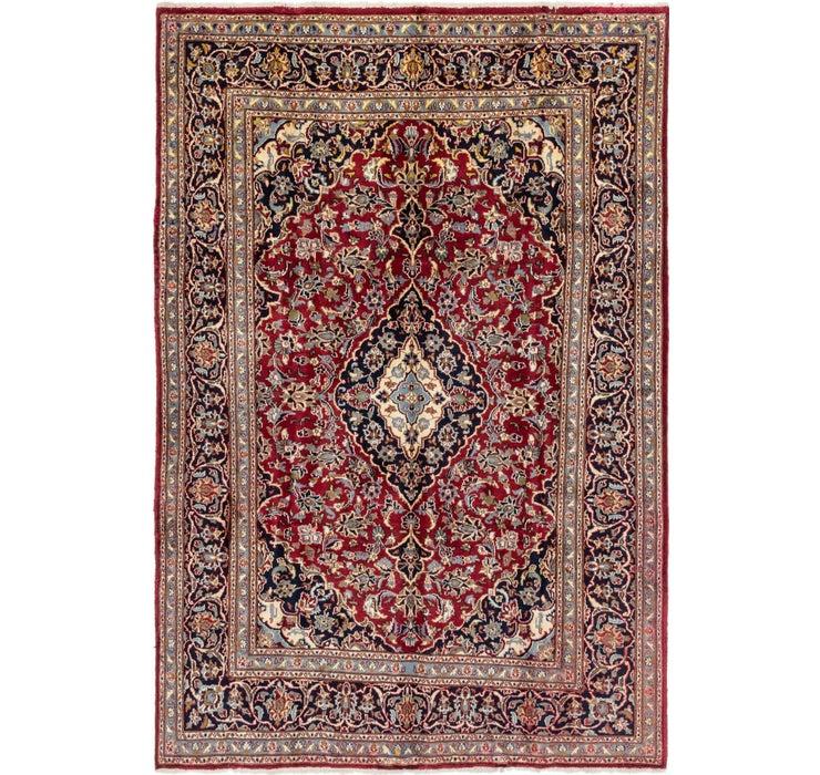 6' 3 x 9' 6 Mashad Persian Rug