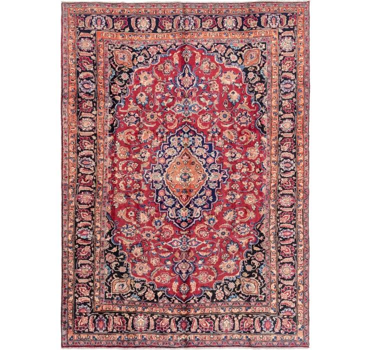 220cm x 307cm Mashad Persian Rug