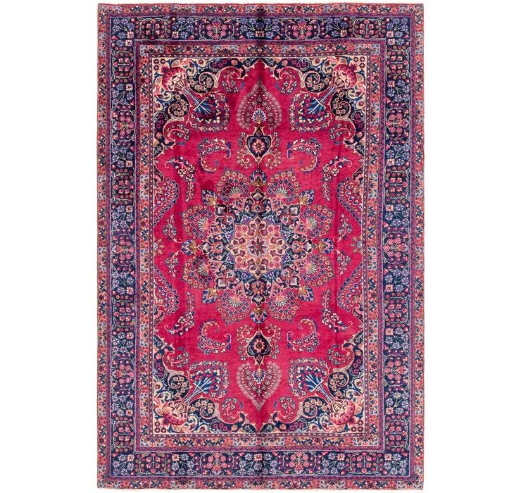 183cm x 285cm Mashad Persian Rug