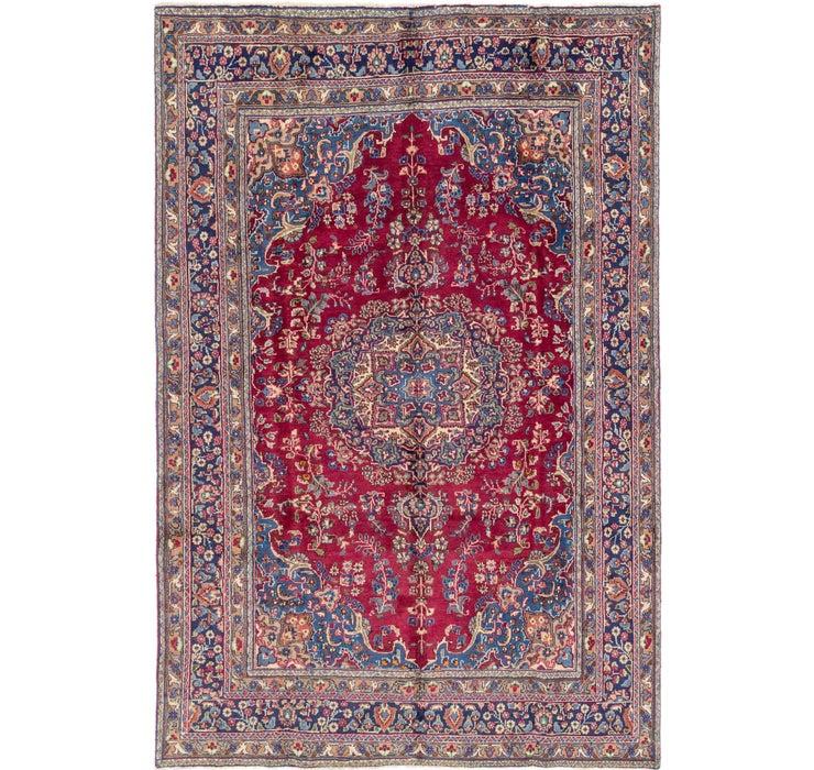 6' 5 x 9' 7 Mashad Persian Rug