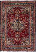 6' 5 x 9' 4 Mashad Persian Rug thumbnail