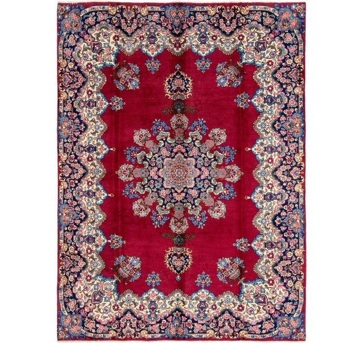 245cm x 335cm Yazd Persian Rug