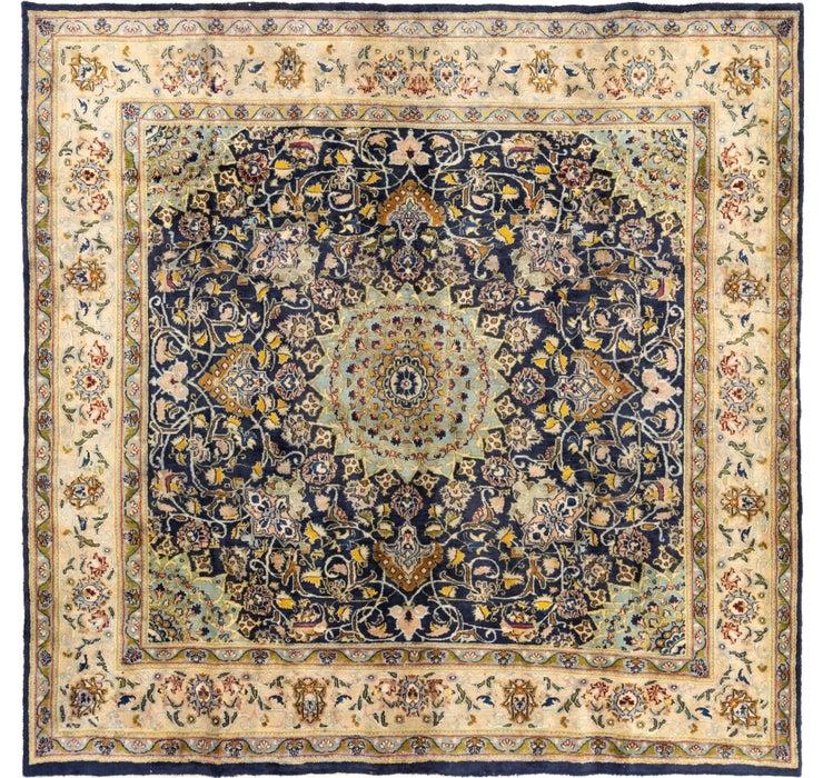 9' 8 x 9' 9 Mashad Persian Square Rug