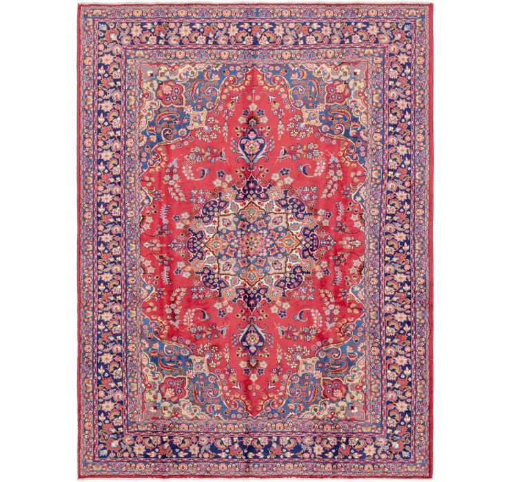 255cm x 340cm Mashad Persian Rug