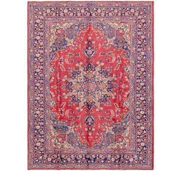Image of 8' 4 x 11' 2 Mashad Persian Rug