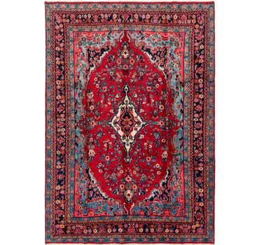 Image of 8' 4 x 12' Hamedan Persian Rug