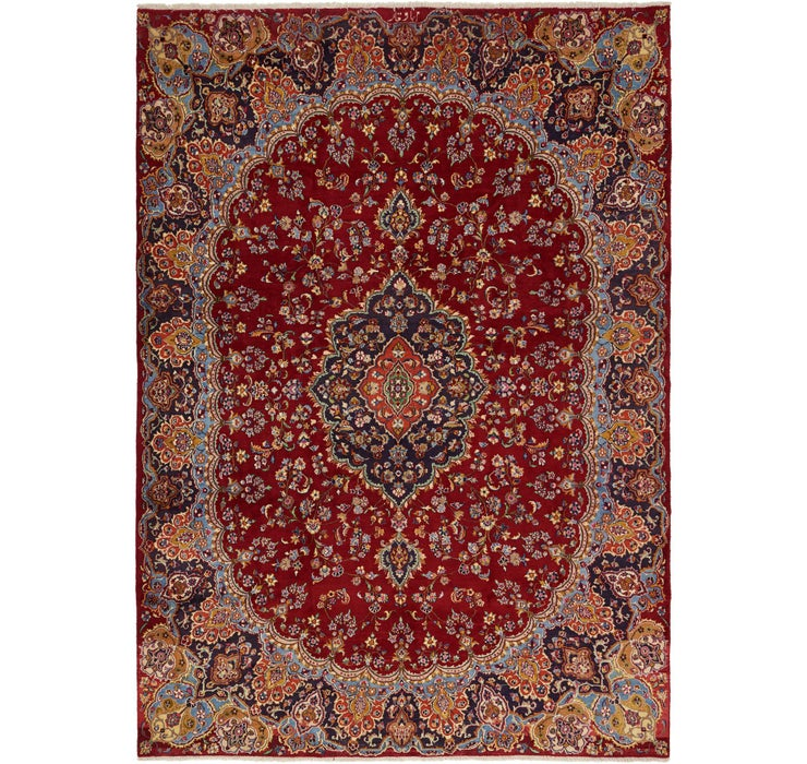 297cm x 420cm Mashad Persian Rug