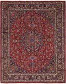 292cm x 375cm Mashad Persian Rug thumbnail image 1