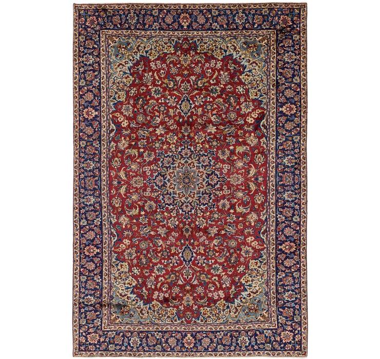255cm x 390cm Isfahan Persian Rug