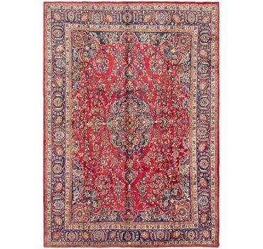9' 7 x 13' Mashad Persian Rug main image