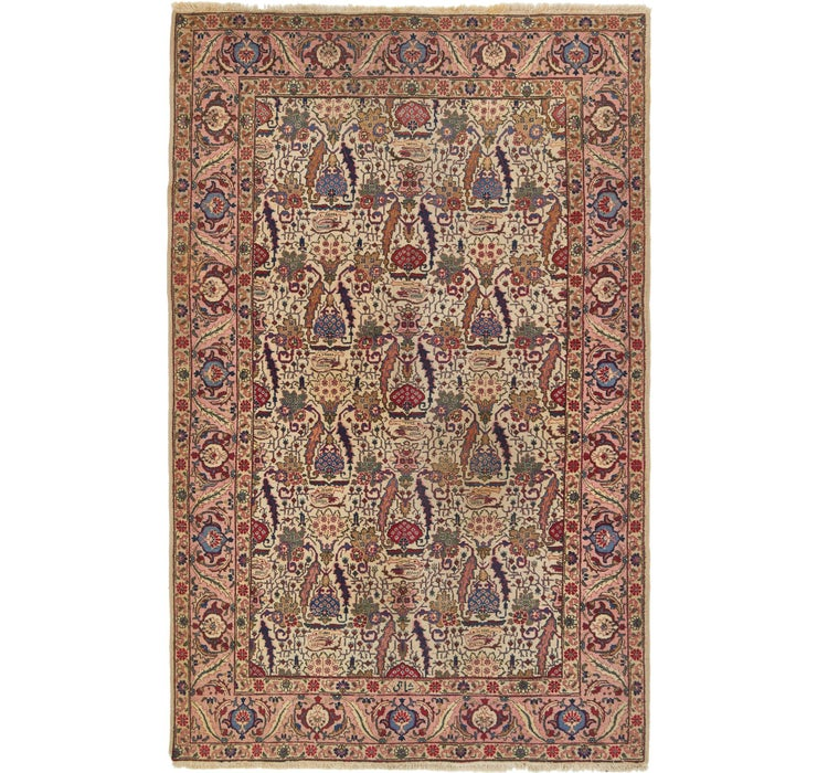 6' 2 x 9' 8 Tabriz Persian Rug