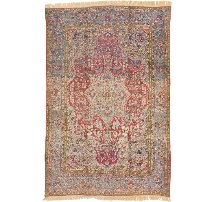 240cm x 365cm Sarough Persian Rug