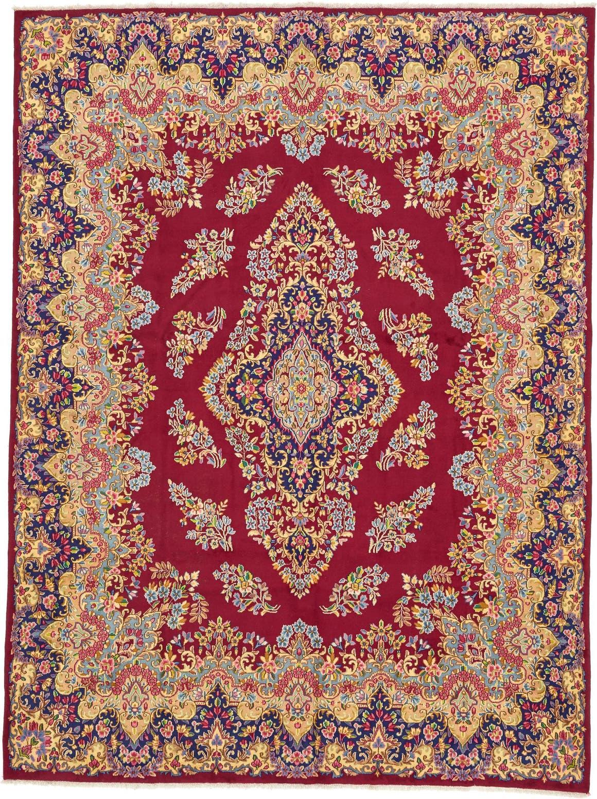 9' 7 x 12' 9 Kerman Persian Rug main image