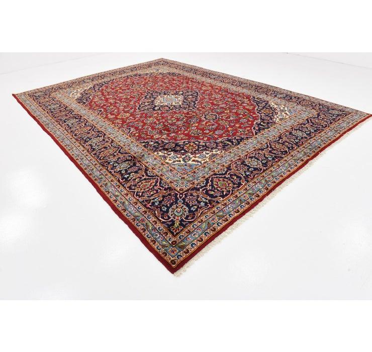 9' 7 x 13' Kashan Persian Rug
