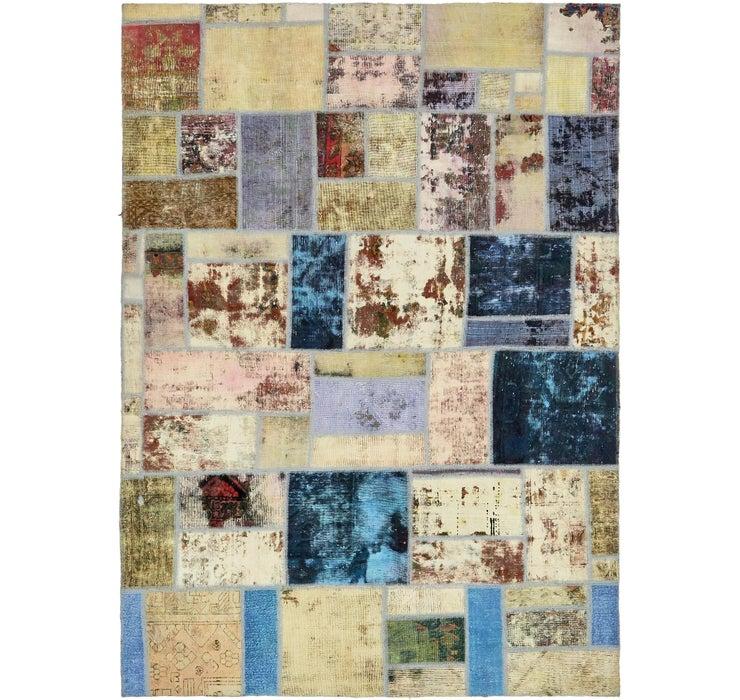 6' 7 x 9' 3 Ultra Vintage Persian Rug
