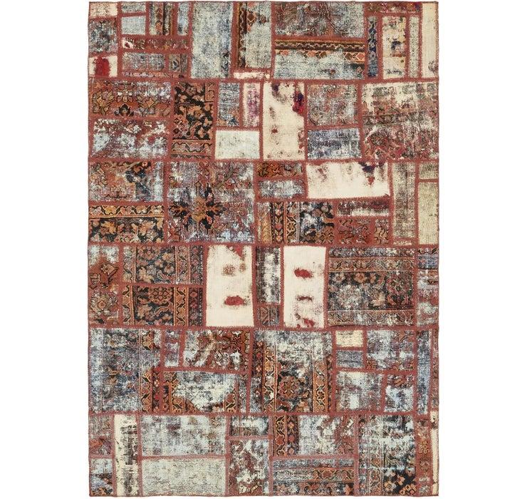 193cm x 275cm Ultra Vintage Persian Rug