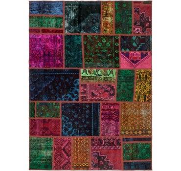 5' 5 x 7' 7 Ultra Vintage Persian Rug main image