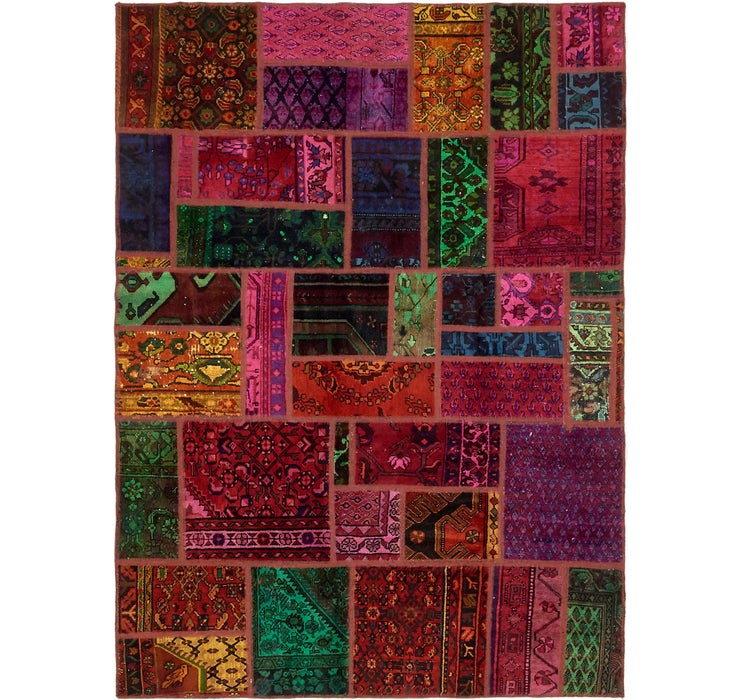 5' 7 x 7' 8 Ultra Vintage Persian Rug
