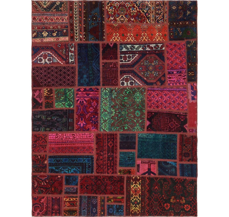 5' 8 x 7' 5 Ultra Vintage Persian Rug