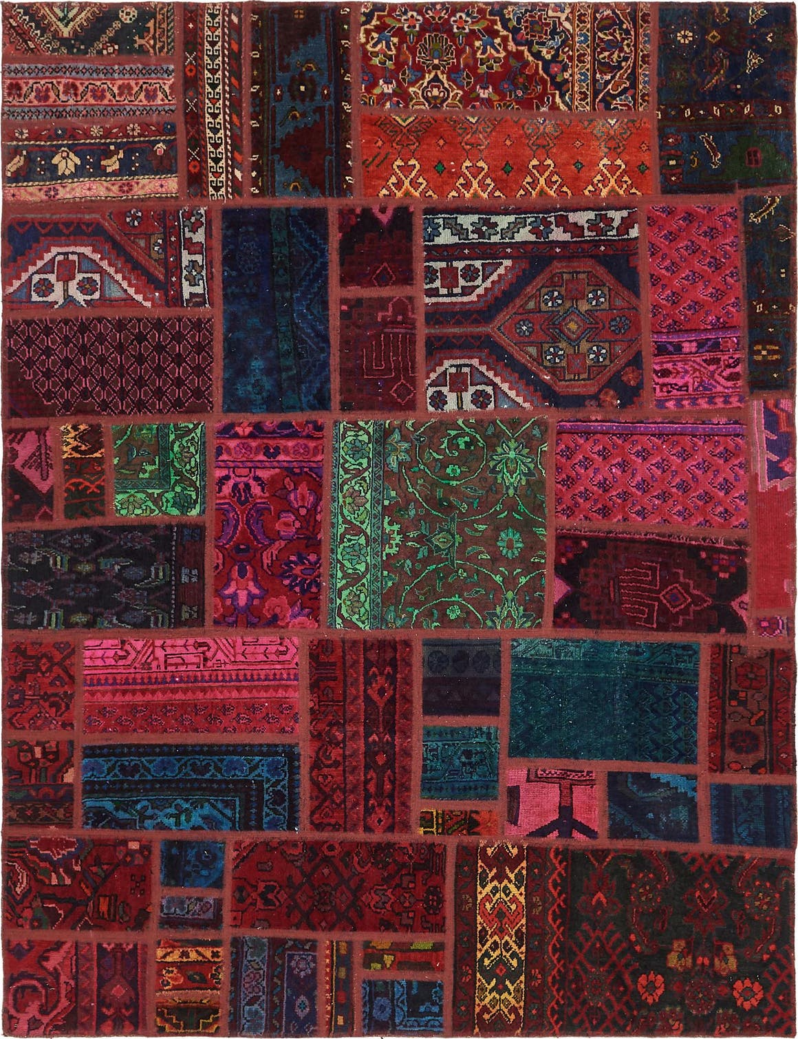 5' 8 x 7' 5 Ultra Vintage Persian Rug main image