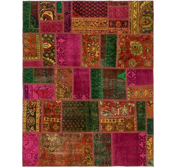 178cm x 225cm Ultra Vintage Persian Rug