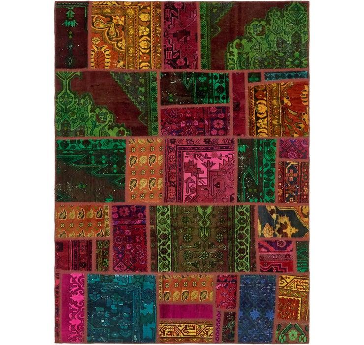 173cm x 235cm Ultra Vintage Persian Rug