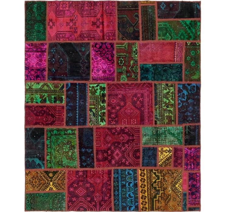 6' 3 x 7' 6 Ultra Vintage Persian Rug