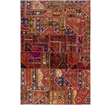 6' 5 x 9' 7 Ultra Vintage Persian Rug main image