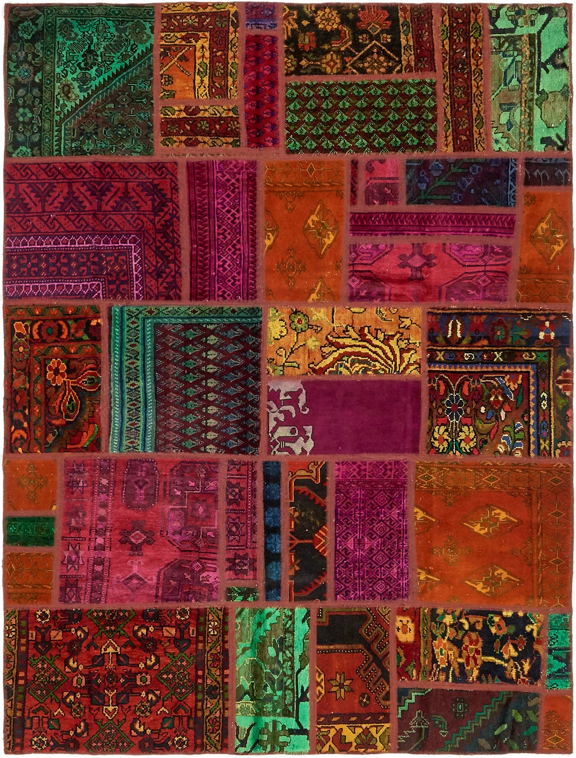 5' 9 x 7' 9 Ultra Vintage Persian Rug main image