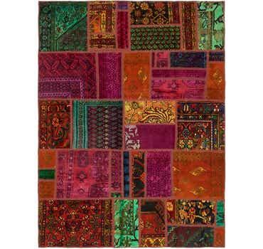 5' 9 x 7' 9 Ultra Vintage Persian Rug