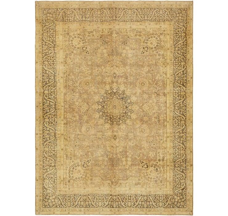 9' 10 x 13' 3 Ultra Vintage Persian Rug