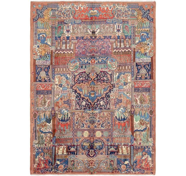 287cm x 410cm Kashmar Persian Rug
