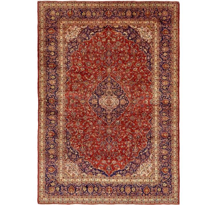 290cm x 417cm Kashan Persian Rug