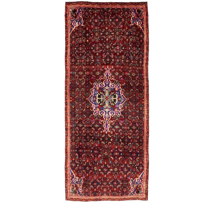 Image of 4' x 9' 6 Gholtogh Persian Runner...