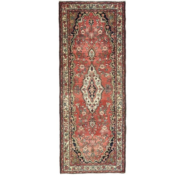 3' 10 x 9' 9 Hamedan Persian Runner ...