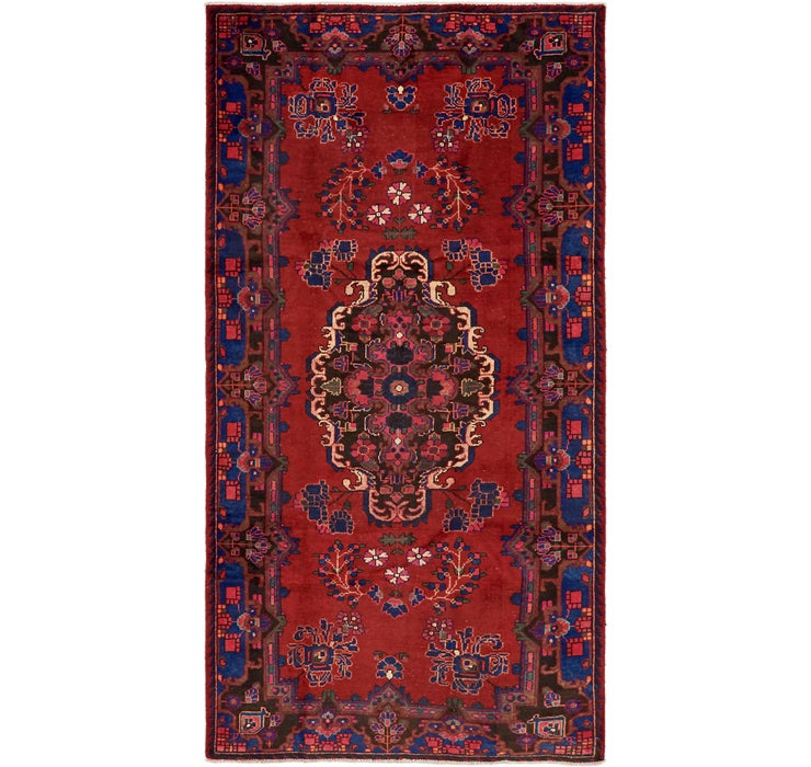 142cm x 275cm Ferdos Persian Runner Rug