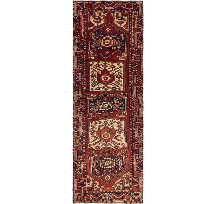 117cm x 350cm Shiraz-Lori Persian Run...