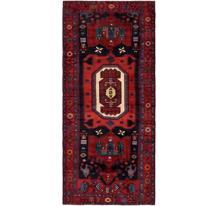 5' 2 x 12' Koliaei Persian Runner ...