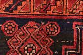 4' 5 x 9' 9 Shiraz-Lori Persian Runner Rug thumbnail