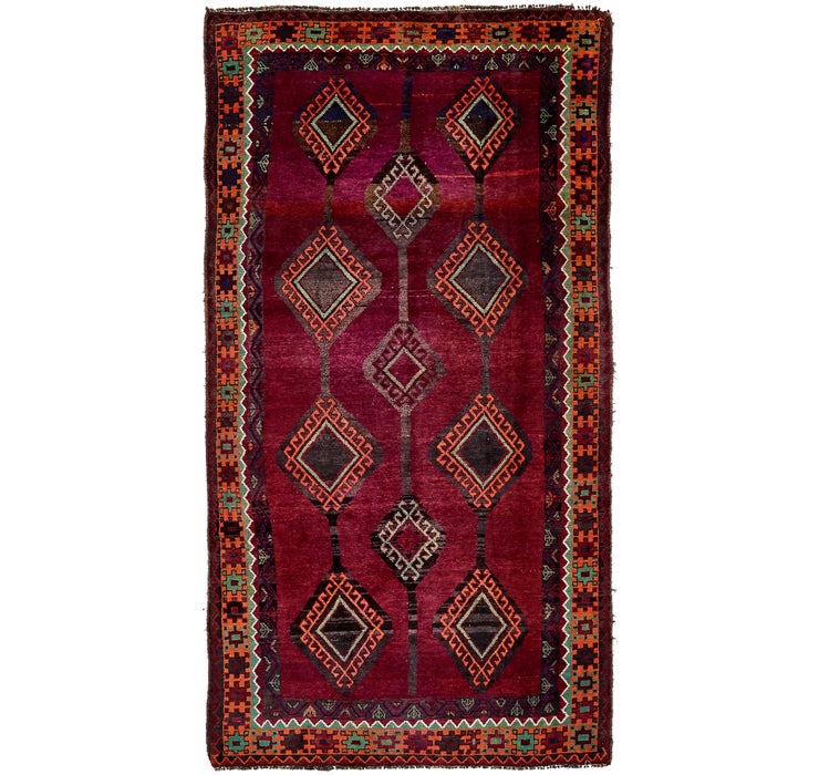 145cm x 295cm Shiraz-Lori Persian Run...