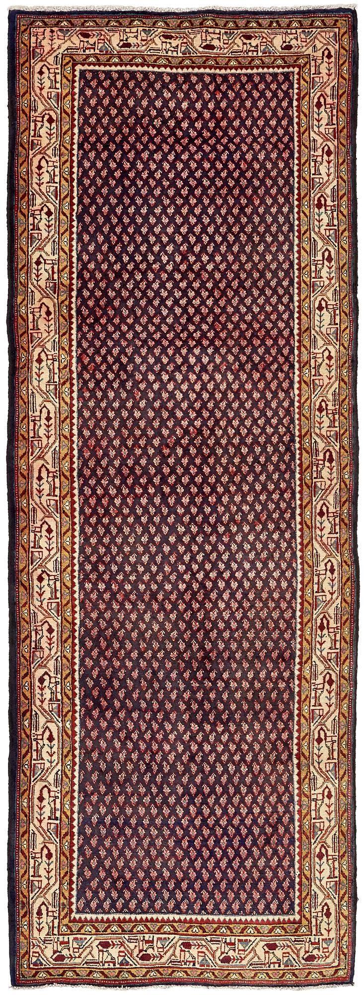 3' 7 x 10' 2 Botemir Persian Runner Rug main image