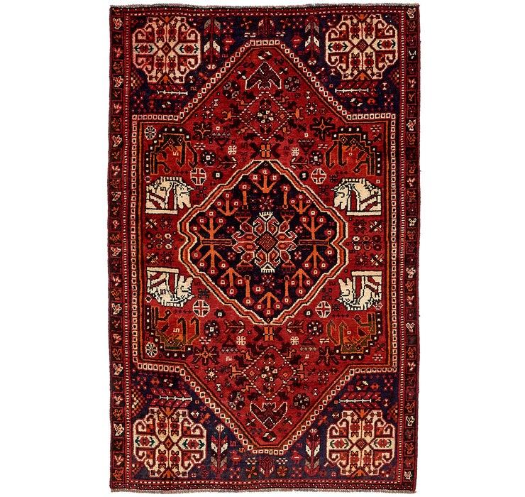 135cm x 218cm Shiraz Persian Rug