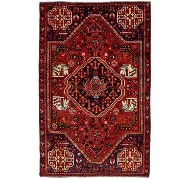 4' 5 x 7' 2 Shiraz Persian Rug main image
