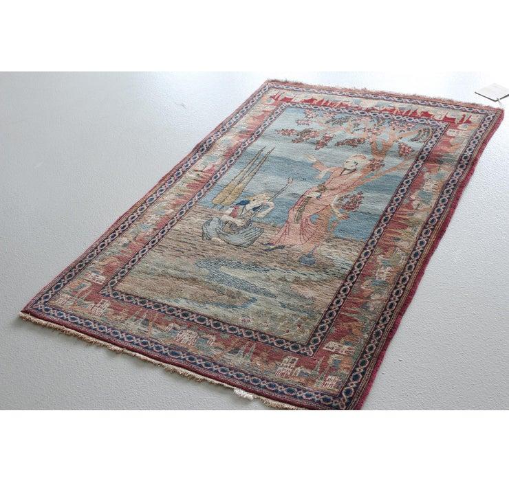 Image of 3' 3 x 5' 3 Kashan Persian Rug