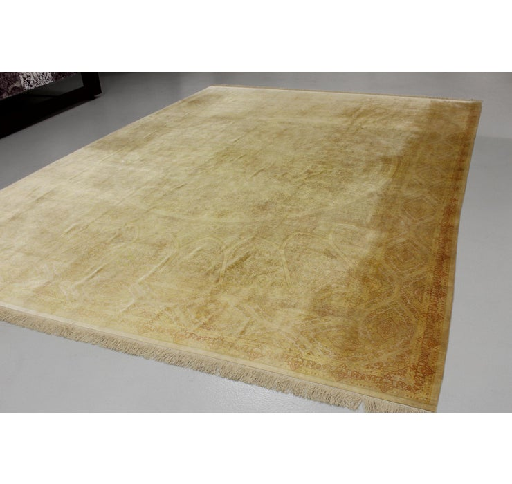 300cm x 395cm Qom Persian Rug