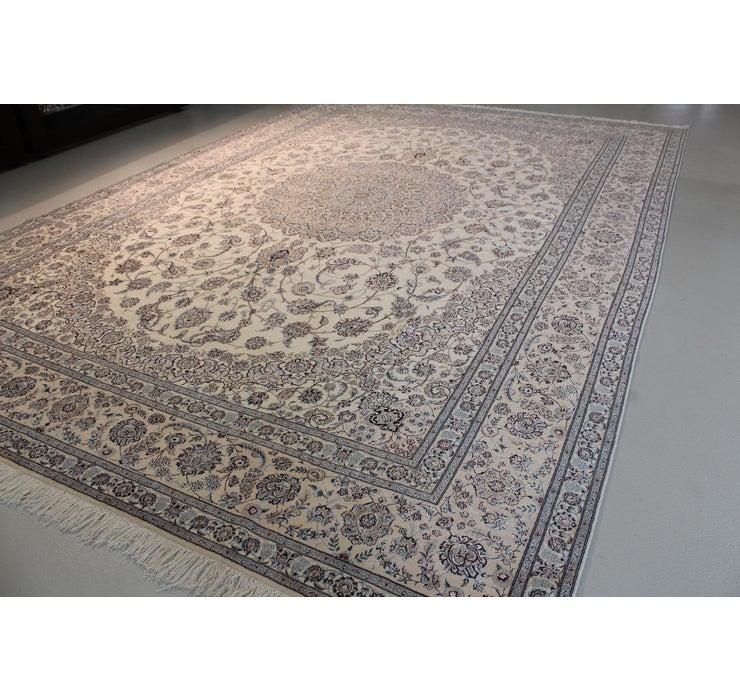 345cm x 500cm Nain Persian Rug